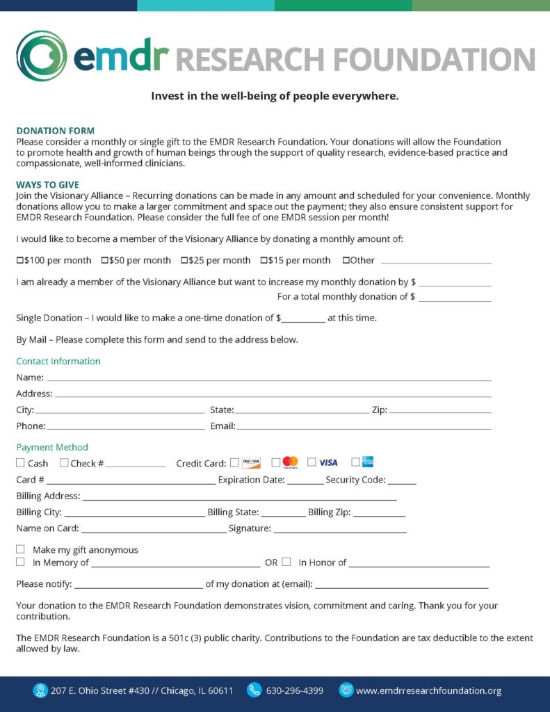 Donation Form